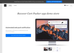 recover-cart-pusher.myshopify.com