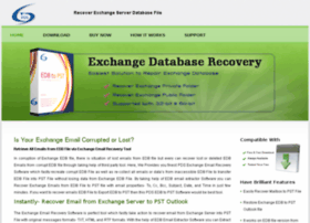 recoverexchangeemails.exchangedatabaserecovery.biz