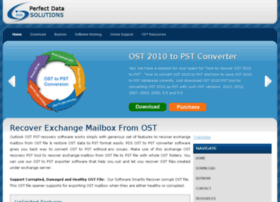 recoverexchangemailboxfromost.ost2010topst.com