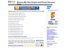 recovermyfilescoupon.com