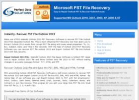 recoverpstfileoutlook2013.microsoftpstfilerecovery.com