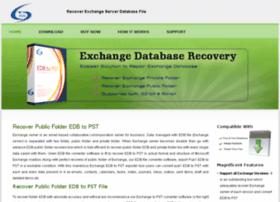 recoverpublicfolderedb.exchangedatabaserecovery.biz