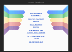 recoveryhealth.me