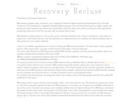 recoveryrecluse.yolasite.com