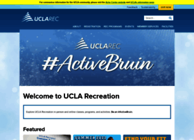 recreation.ucla.edu