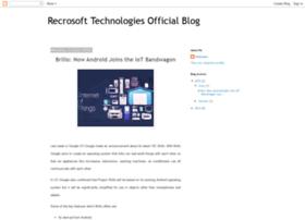 recrosoft.blogspot.in