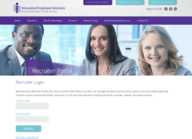 recruiters.innovativeemployeesolutions.com