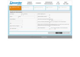 recruiting.alexandergroup.com