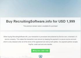 recruitingsoftware.info