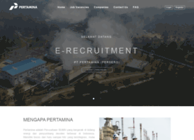 recruitment.pertamina.com