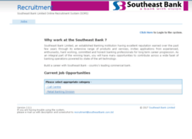 recruitment.southeastbank.com.bd