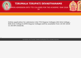 recruitment.tirumala.org