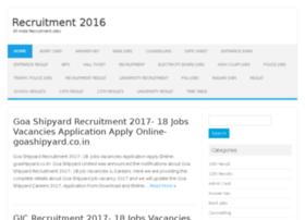recruitment2016.in