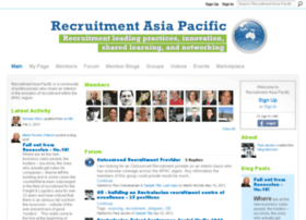 recruitmentasiapacific.com