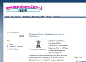 recruitmentcareer.in