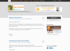 recruitmentinafrica.com