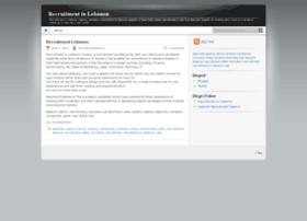 recruitmentlebanon.wordpress.com