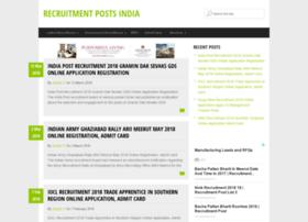 recruitmentposts.in