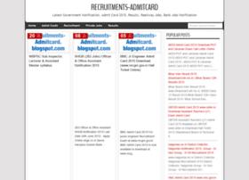 recruitments-admitcard.blogspot.in