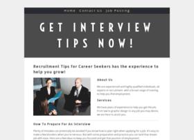 recruitmenttipsforcareerseekers.yolasite.com