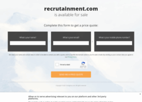 recrutainment.com