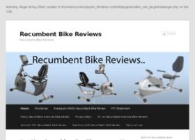 recumbentbikereviewscenter.com