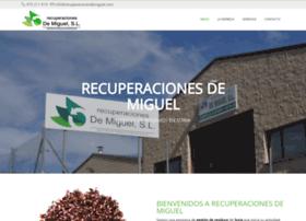 recuperacionesdemiguel.com