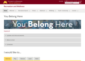 recwell.umn.edu