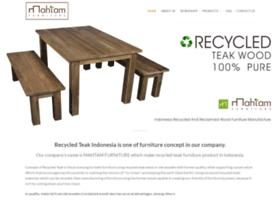 recycledteakindonesia.com