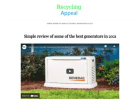 recyclingappeal.com