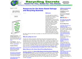 recyclingsecrets.com