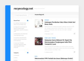 recyecology.net