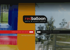 redballoonpartyrental.com