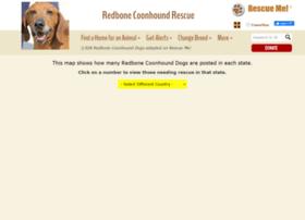 redbonecoonhound.rescueme.org