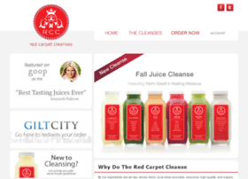 redcarpetcleanses.com