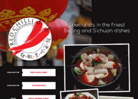 redchillirestaurant.co.uk