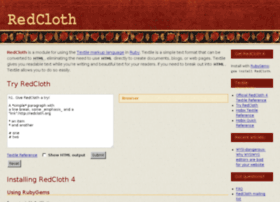 redcloth.org
