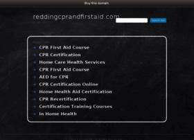 reddingcprandfirstaid.com