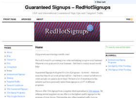 redhotsignups.com
