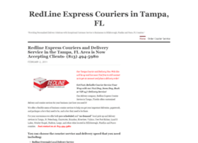 redlineexpresscouriers.wordpress.com