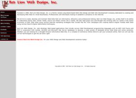 redlionwebdesign.com
