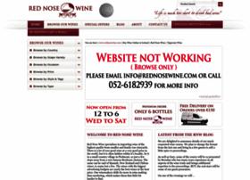 rednosewine.com