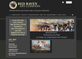 redravenartcompany.com