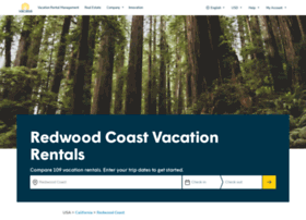 redwoodcoastvacationrentals.com