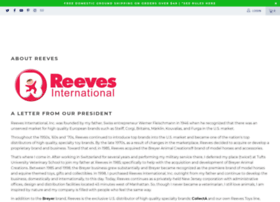 Reevesintl.com