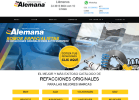 refaccionariaalemana.com.mx