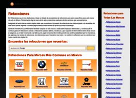 refacciones.org.mx
