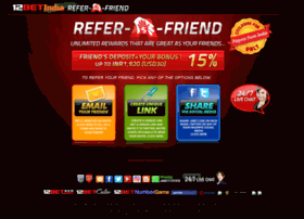 referfriends12bet.com