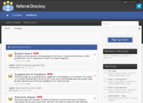 referraldirectoryforum.com