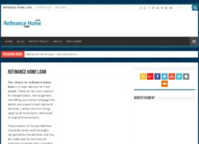 refinancingghomesloan.com